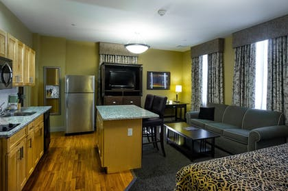 In-Room Kitchen | The Parker Inn & Suites