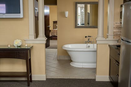 Deep Soaking Bathtub | The Parker Inn & Suites