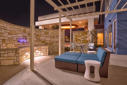 Terrace/Patio | Springhill Suites Houston I-45 North