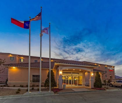 Hotel Front   TownePlace Suites El Paso Airport