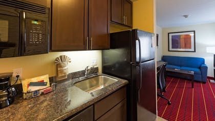 In-Room Kitchen   TownePlace Suites El Paso Airport