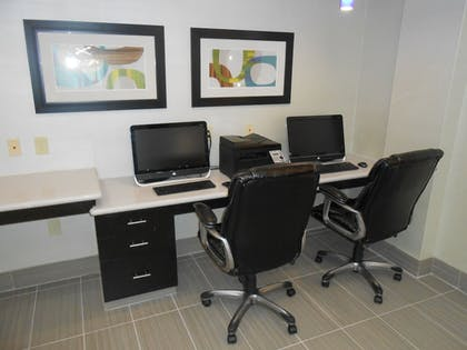 Business Center | Holiday Inn Express Hotel & Suites Houston NW-Brookhollow