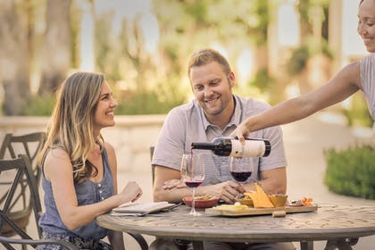Couples Dining | Allegretto Vineyard Resort Paso Robles