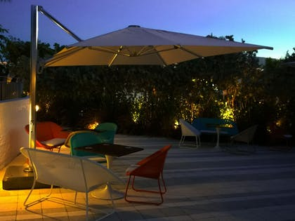 Terrace/Patio | The Vagabond Hotel