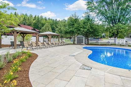 Outdoor Pool | Grey Fox Inn