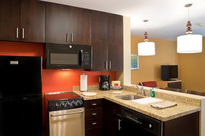 In-Room Kitchen | TownePlace Suites by Marriott Dodge City