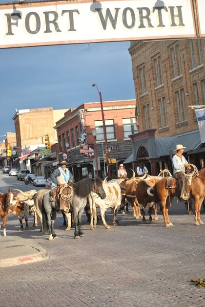 Street View | Stockyards Hotel