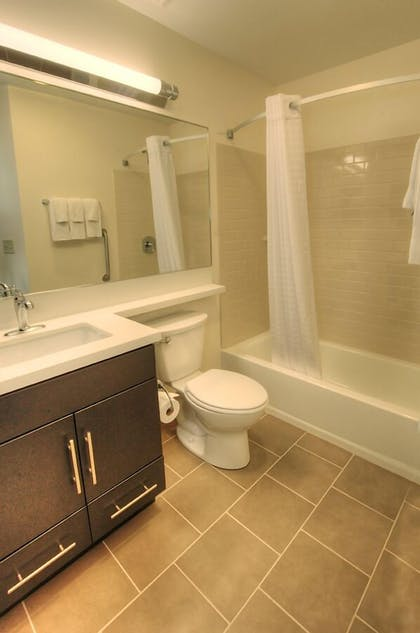 Bathroom | Candlewood Suites Sioux City - Southern Hills
