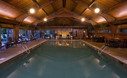 Indoor Pool | The Lodge at Chetola Resort