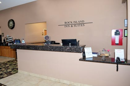 Reception | Rock Island Inn & Suites