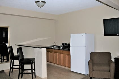 In-Room Kitchenette | Rock Island Inn & Suites