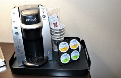 In-Room Coffee | Rock Island Inn & Suites