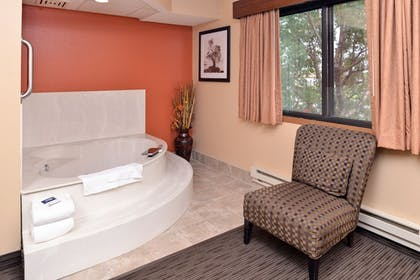 Private Spa Tub | AmericInn by Wyndham Fergus Falls - Conference Center