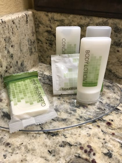 Bathroom Amenities | AmericInn by Wyndham Fergus Falls - Conference Center
