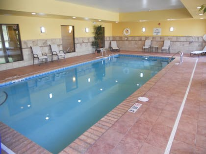 Pool | Holiday Inn Express & Suites Greensburg