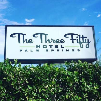 Hotel Front | The Three Fifty Hotel