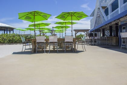 Outdoor Dining | Rhumcay Beach Resort