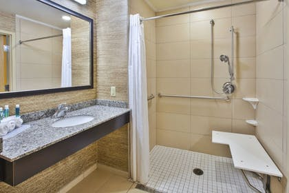 Bathroom | Holiday Inn Express & Suites Geneva Finger Lakes