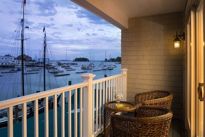 Balcony View | Grand Harbor Inn