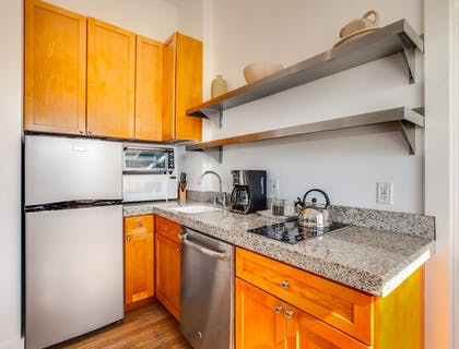 In-Room Kitchen | Venice Suites
