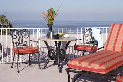 Terrace/Patio | Venice Suites