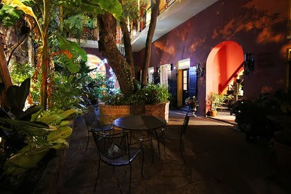 Courtyard | The Olivier House Hotel