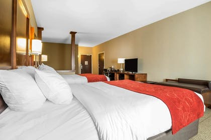 Guestroom | Comfort Suites Moab near Arches National Park