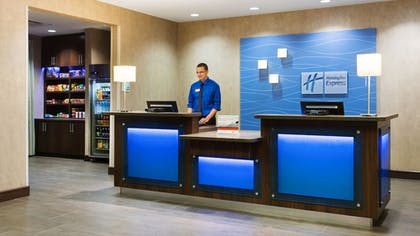Lobby | Holiday Inn Express & Suites Midland South I-20