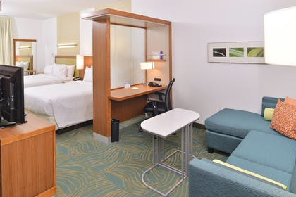 Guestroom | SpringHill Suites Raleigh Cary