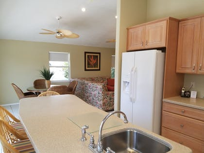 In-Room Kitchen | Cedar Cove Resort and Cottages