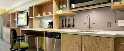 In-Room Kitchenette | Home2 Suites by Hilton Fargo, ND