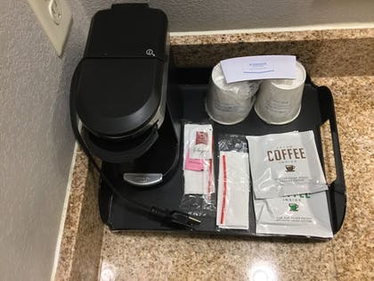 In-Room Coffee | Days Inn & Suites by Wyndham Houston North-Spring