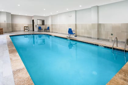 Indoor Pool | Holiday Inn Express & Suites Houston North - IAH Area