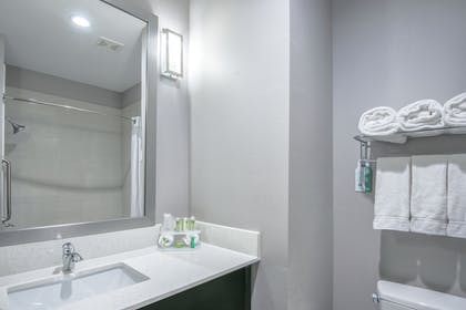 In-Room Amenity | Holiday Inn Express & Suites Houston North - IAH Area