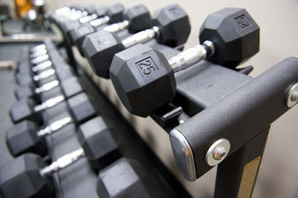 Fitness Facility | The Bluemont Hotel