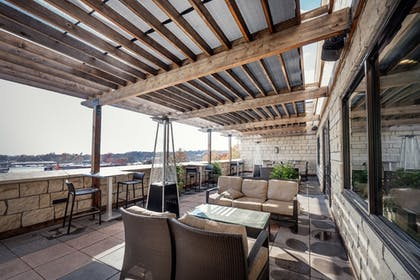 Terrace/Patio | The Bluemont Hotel