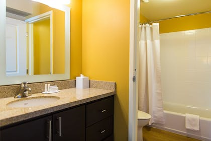 Bathroom | TownePlace Suites by Marriott Lancaster