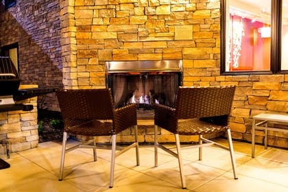Fireplace | TownePlace Suites by Marriott Lancaster