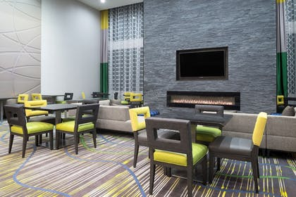 Lobby Sitting Area | Holiday Inn Express & Suites Norman