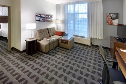 Living Area   TownePlace Suites Springfield