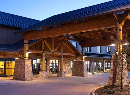 Hotel Entrance | The Lodge at Deadwood Gaming Resort