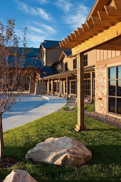Exterior detail | The Lodge at Deadwood Gaming Resort