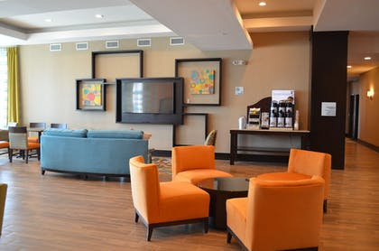 Lobby Sitting Area | Holiday Inn Express & Suites Austin South