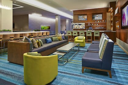 Hotel Lounge | SpringHill Suites by Marriott at Anaheim Resort/Conv. Cntr