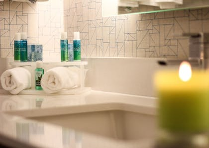 Bathroom | Holiday Inn Express & Suites Miami Airport East