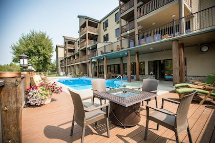 Outdoor Pool | The Pine Lodge on Whitefish River, Ascend Hotel Collection