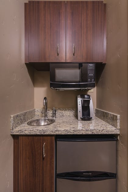 In-Room Kitchenette | The Pine Lodge on Whitefish River, Ascend Hotel Collection