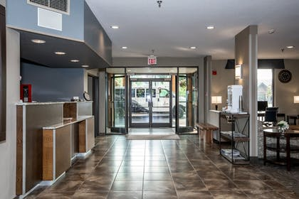 Interior Entrance | The Pine Lodge on Whitefish River, Ascend Hotel Collection