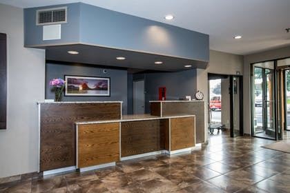 Check-in/Check-out Kiosk | The Pine Lodge on Whitefish River, Ascend Hotel Collection