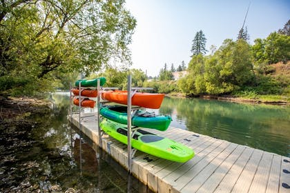 Dock | The Pine Lodge on Whitefish River, Ascend Hotel Collection